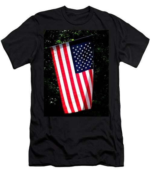 Star Spangled Banner Men's T-Shirt (Athletic Fit)