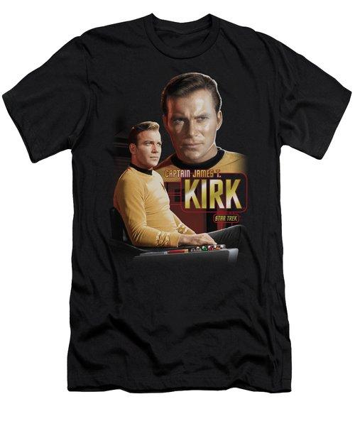 Star Trek - Captain Kirk Men's T-Shirt (Athletic Fit)