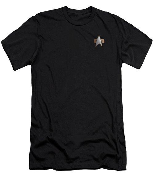 Star Trek - Ds9 Command Emblem Men's T-Shirt (Athletic Fit)