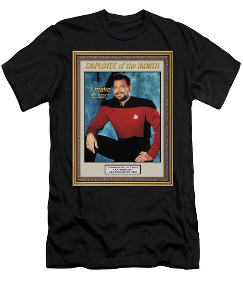 Star Trek - Employee Of Month Men's T-Shirt (Athletic Fit)