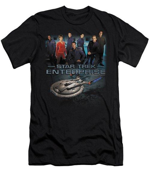 Star Trek - Enterprise Crew Men's T-Shirt (Athletic Fit)