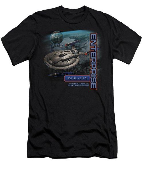 Star Trek - Enterprise Nx 01 Men's T-Shirt (Athletic Fit)