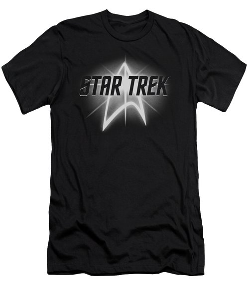 Star Trek - Glow Logo Men's T-Shirt (Athletic Fit)