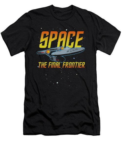 Star Trek - Space Men's T-Shirt (Athletic Fit)