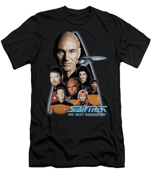 Star Trek - The Next Generation Men's T-Shirt (Athletic Fit)