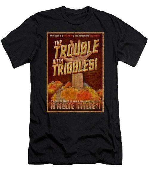 Star Trek - Tribbles: The Movie Men's T-Shirt (Athletic Fit)