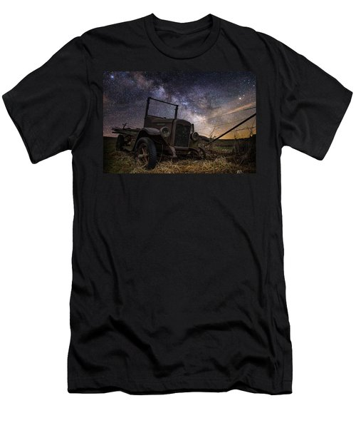 Stardust And  Rust Men's T-Shirt (Athletic Fit)