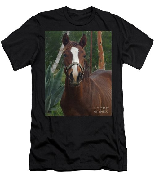 Men's T-Shirt (Slim Fit) featuring the photograph Stared Down by Peter Piatt