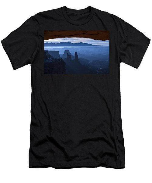 Men's T-Shirt (Athletic Fit) featuring the photograph Starlit Mesa  by Dustin  LeFevre