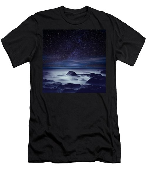 Starry Night Men's T-Shirt (Slim Fit) by Jorge Maia