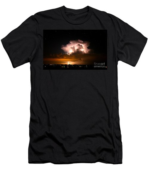 Starry Thundercloud Men's T-Shirt (Athletic Fit)