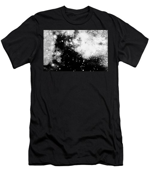 Stars And Cloud-like Forms In A Night Sky Men's T-Shirt (Athletic Fit)