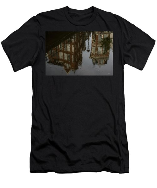 Men's T-Shirt (Slim Fit) featuring the photograph Starting To Rain... by Georgia Mizuleva