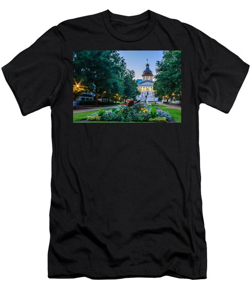 State House Garden Men's T-Shirt (Athletic Fit)