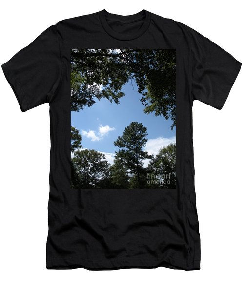 Stately Forest  Men's T-Shirt (Slim Fit) by Joseph Baril