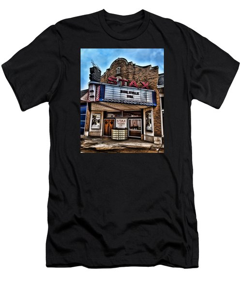 Stax Records Men's T-Shirt (Slim Fit) by Stephen Stookey