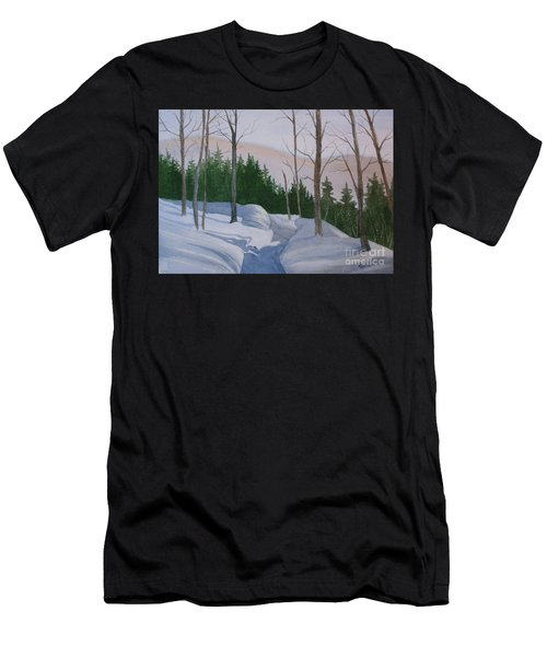 Stay On The Path Men's T-Shirt (Athletic Fit)
