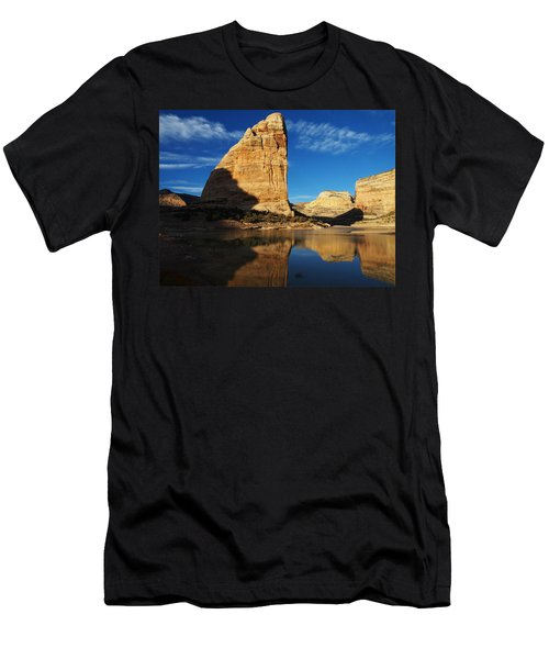 Steamboat Rock In Dinosaur National Monument Men's T-Shirt (Athletic Fit)