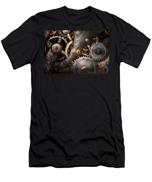Steampunk - Gears - Horology Men's T-Shirt (Athletic Fit)