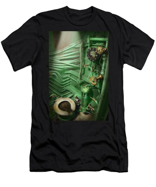 Steampunk - Naval - Plumbing - The Head Men's T-Shirt (Athletic Fit)