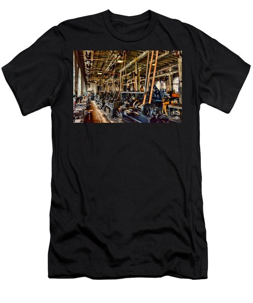 Steampunk - The Age Of Industry Men's T-Shirt (Athletic Fit)
