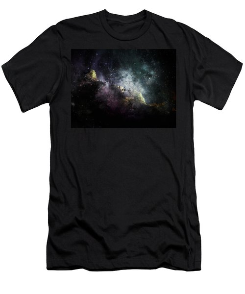 Men's T-Shirt (Slim Fit) featuring the photograph Stellar 2 by Cynthia Lassiter
