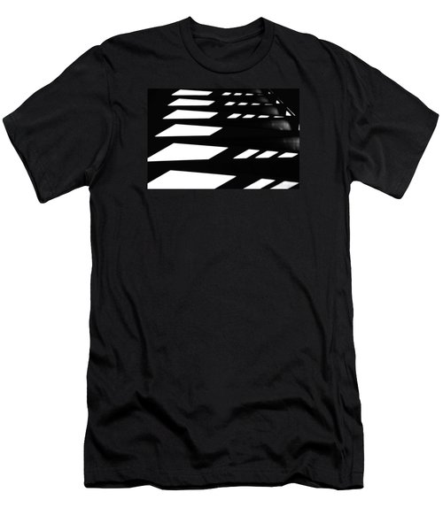Men's T-Shirt (Slim Fit) featuring the photograph Step By Step by Newel Hunter