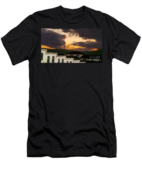 Beautiful Clouds Men's T-Shirt (Athletic Fit)
