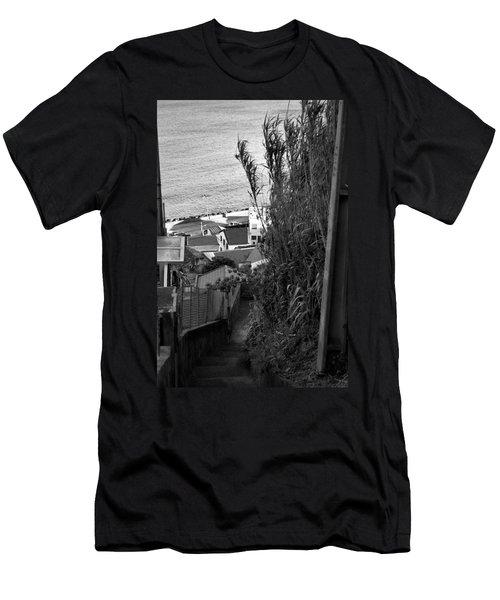 Step Down Men's T-Shirt (Athletic Fit)