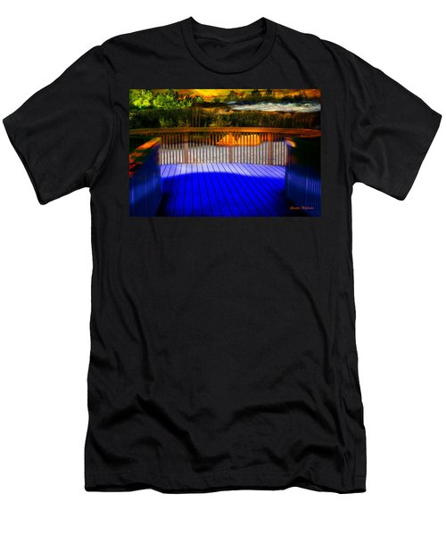 Men's T-Shirt (Athletic Fit) featuring the photograph Step Out by Gunter Nezhoda