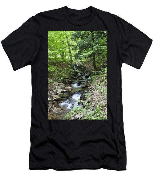 Stepped Water Fall Men's T-Shirt (Athletic Fit)