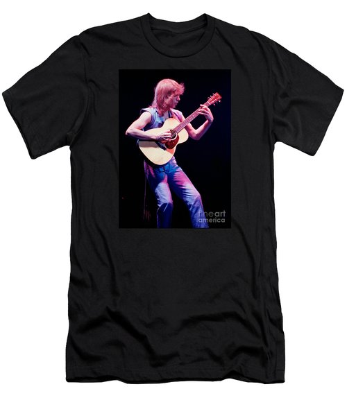 Steve Howe Of Yes Performing The Clap Men's T-Shirt (Athletic Fit)