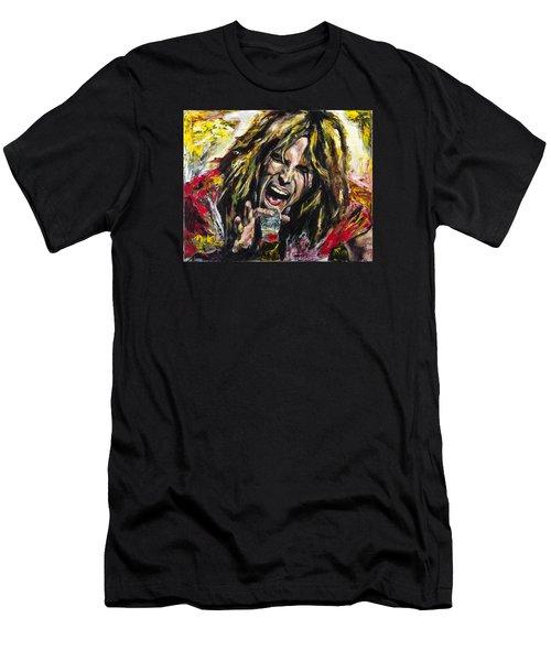 Steven Tyler Men's T-Shirt (Slim Fit) by Mark Courage