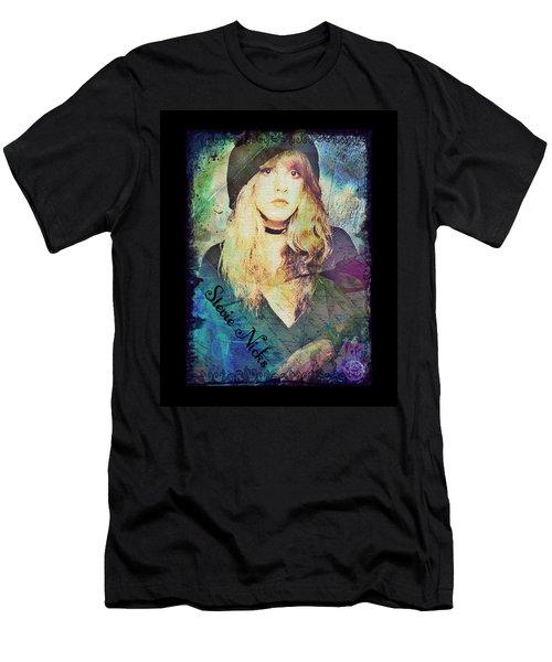 Stevie Nicks - Beret Men's T-Shirt (Athletic Fit)