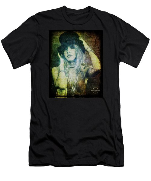 Stevie Nicks - Bohemian Men's T-Shirt (Slim Fit) by Absinthe Art By Michelle LeAnn Scott