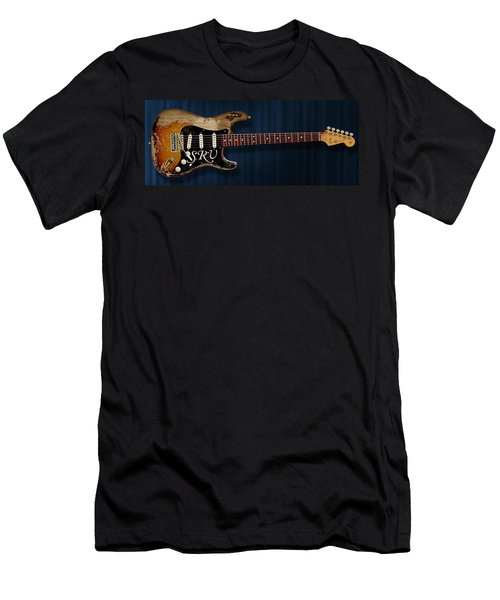 Stevie Ray Vaughan Stratocaster Men's T-Shirt (Athletic Fit)