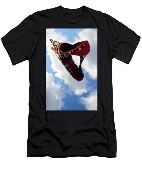 Stilettos Gone Zebra Men's T-Shirt (Athletic Fit)
