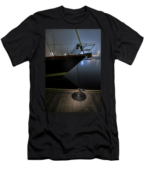 Men's T-Shirt (Slim Fit) featuring the photograph Still In The Fog by Marty Saccone