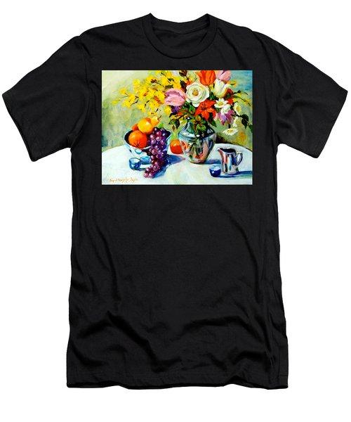 Still Life Creamer Men's T-Shirt (Athletic Fit)