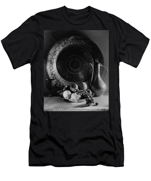 Still Life Of Armenian Plate And Other Men's T-Shirt (Athletic Fit)