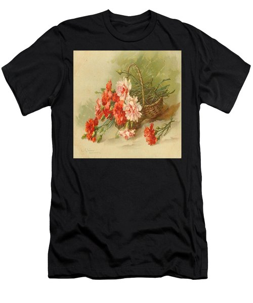 Still Life Of Flowers Men's T-Shirt (Athletic Fit)