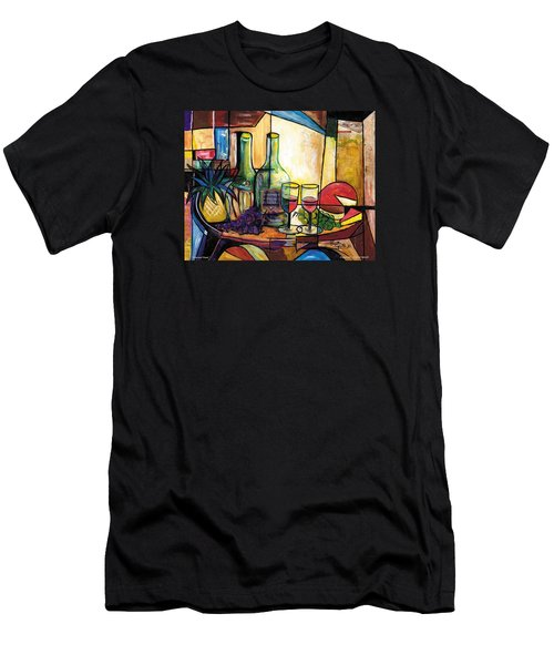 Still Life / Sharons' Feast Men's T-Shirt (Athletic Fit)