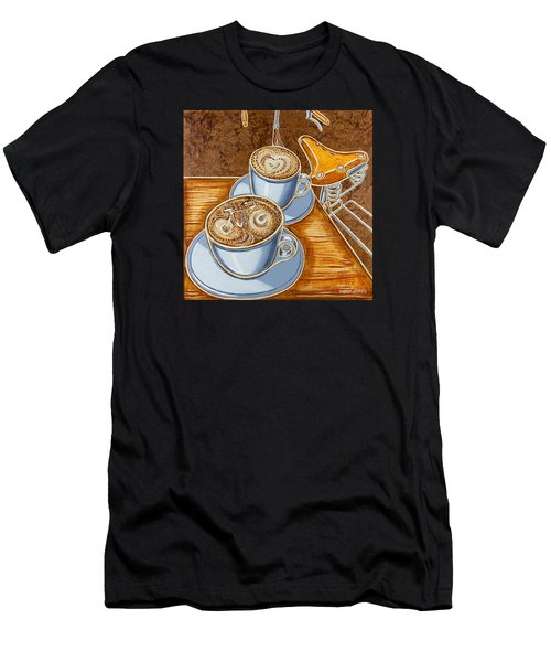 Still Life With Bicycle Men's T-Shirt (Athletic Fit)