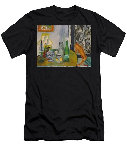 Still Life  With Lamps Men's T-Shirt (Athletic Fit)