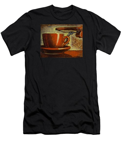 Still Life With Racing Bike Men's T-Shirt (Athletic Fit)