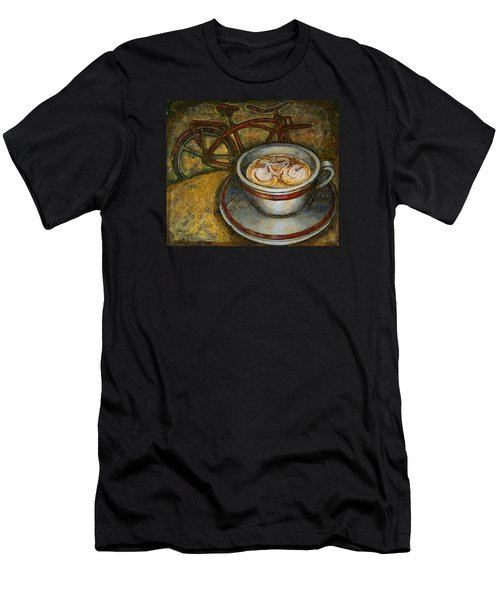 Still Life With Red Cruiser Bike Men's T-Shirt (Athletic Fit)