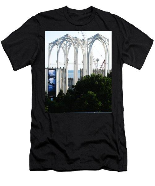 Still Under Construction Men's T-Shirt (Slim Fit) by David Trotter