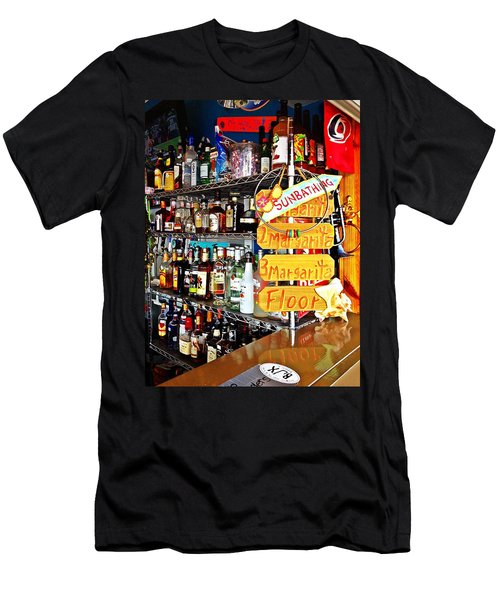 Stocked Bar At Jax Men's T-Shirt (Athletic Fit)