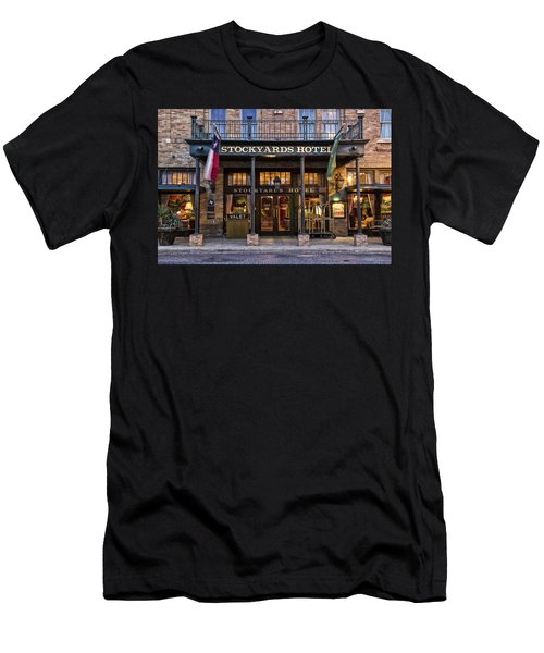 Stockyards Hotel Men's T-Shirt (Athletic Fit)