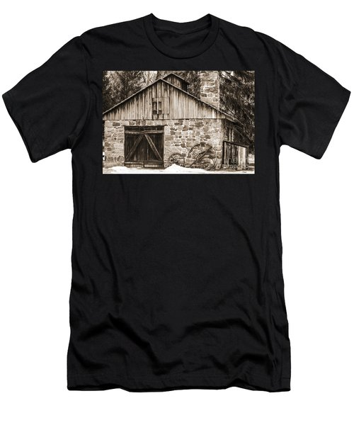 Stone Cabin 2 Men's T-Shirt (Athletic Fit)